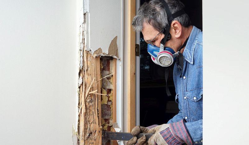 Renovierung Mann