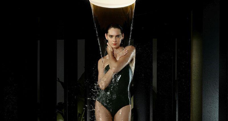 Dusche Frau_
