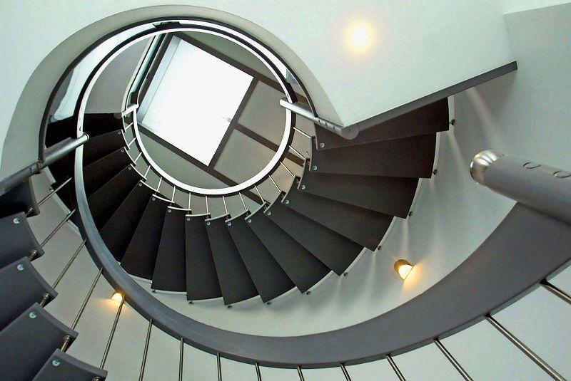 Treppe gewendelt