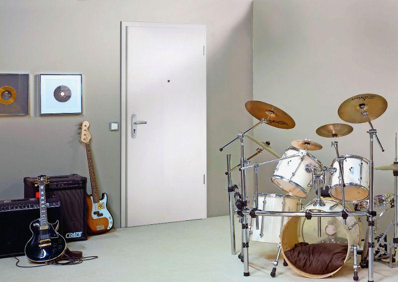 Tuer Schlagzeug