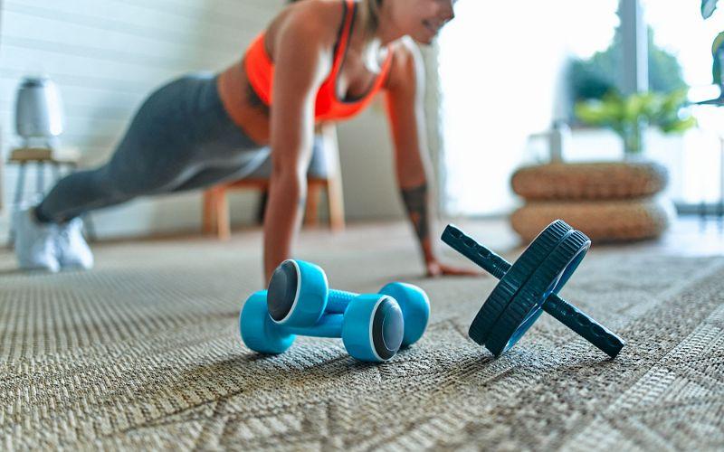 fitness-frau