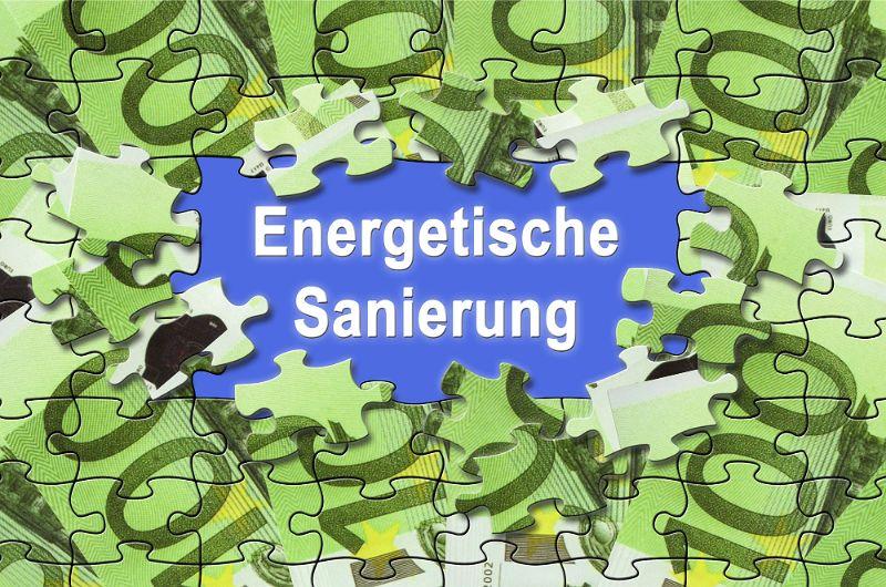 Energetische Sanierung Puzzle